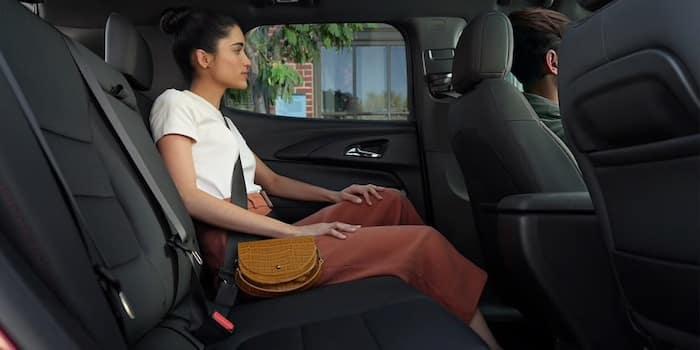 2021 Chevrolet Trailblazer comfortable passenger seating room
