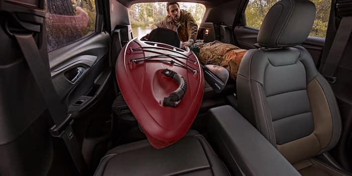2021 Chevrolet Trailblazer cargo room