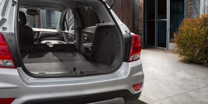 2021 Chevrolet Trax rear cargo with lift gate