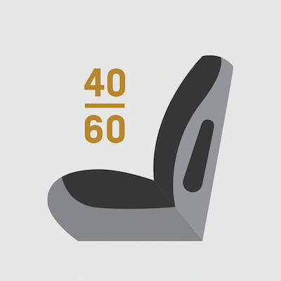 2021 Chevrolet Trailblazer SPLIT-FOLDING SEATS 40/60 2nd row