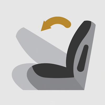 2021 Chevrolet Trailblazer flat-folding seats