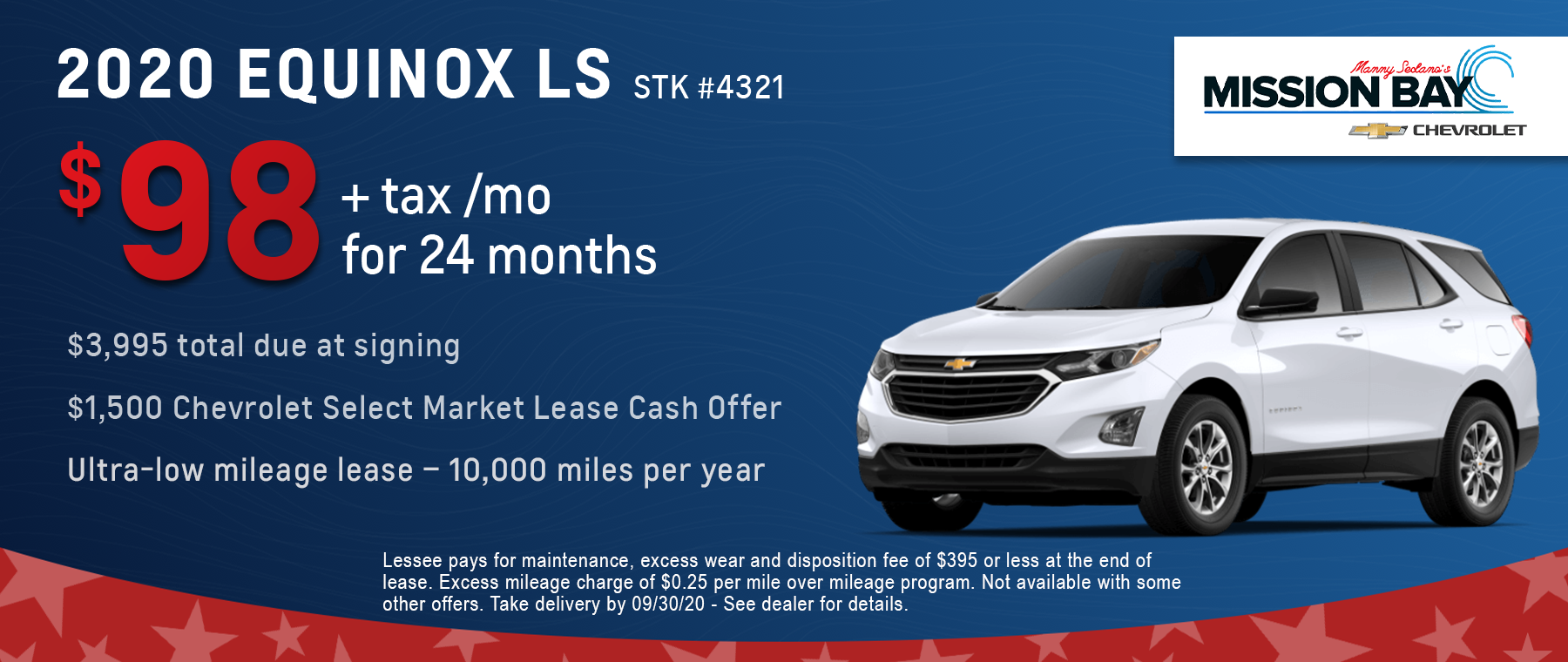 New 2020 Chevy Equinox LS lease deals at San Diego Chevrolet dealership