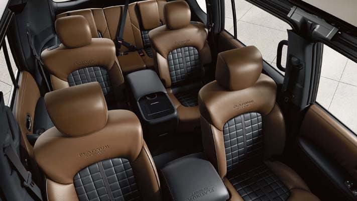 2020 nissan armada interior premium two-tone leather