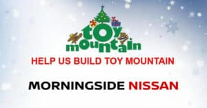 Toy Mountain at Morningside Nissan in Scarborough