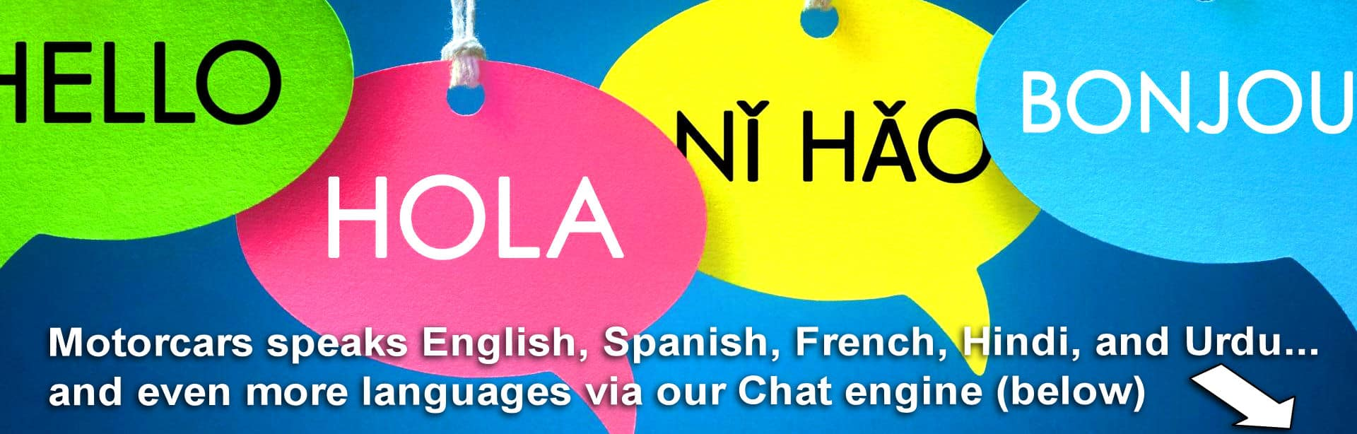 More Languages via Our Chat Engine