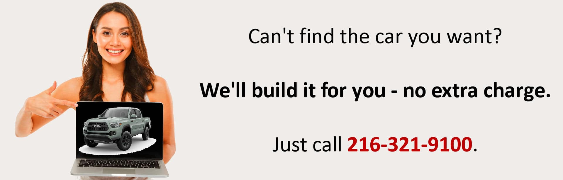 We'll build your car for you