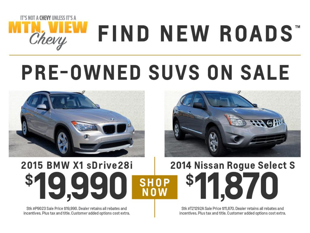 Pre-Owned SUVs