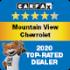 CarFax 2020 Top Rated Dealer
