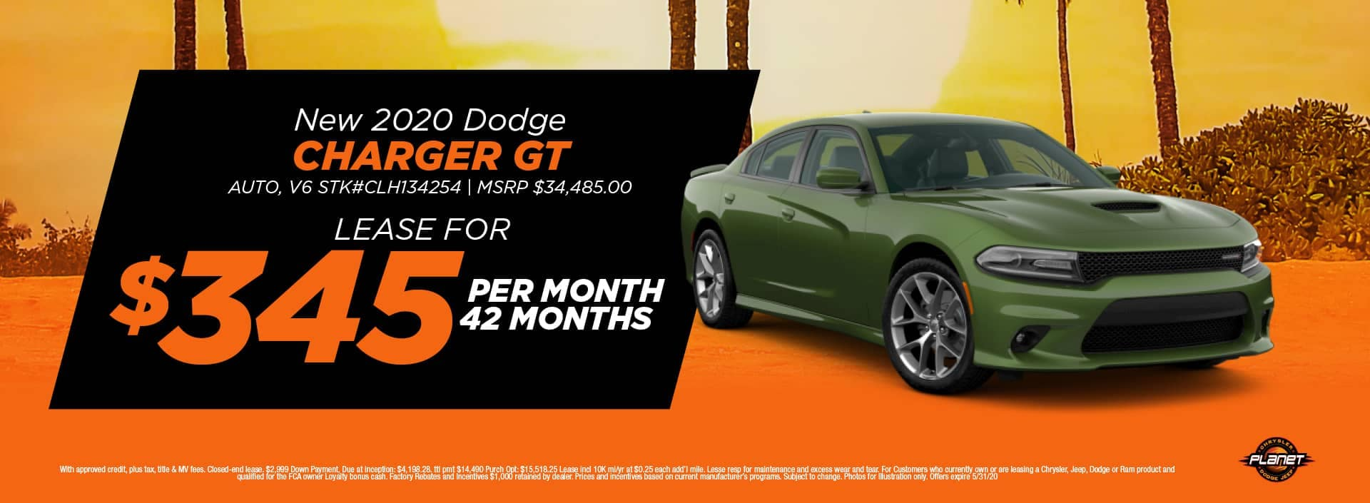 banner for 2020 Charger GT