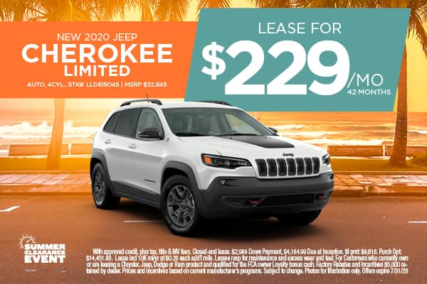 NEW 2020 CHEROKEE LIMITED