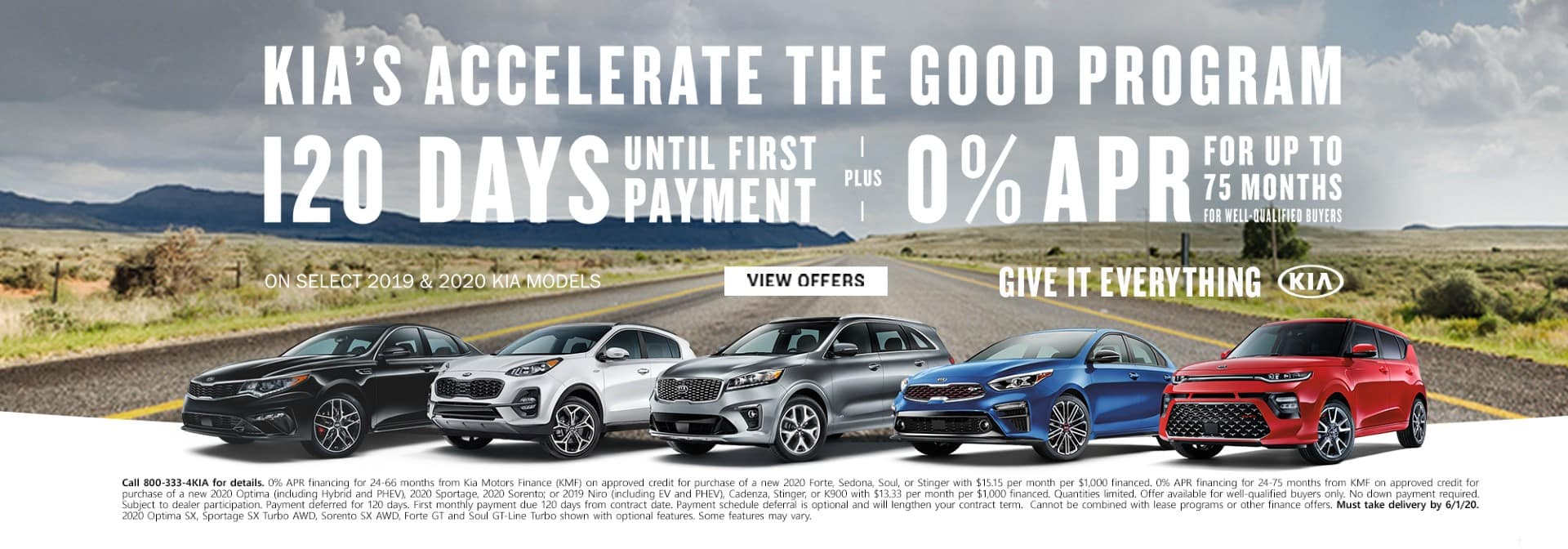 Kia Offer May 2020