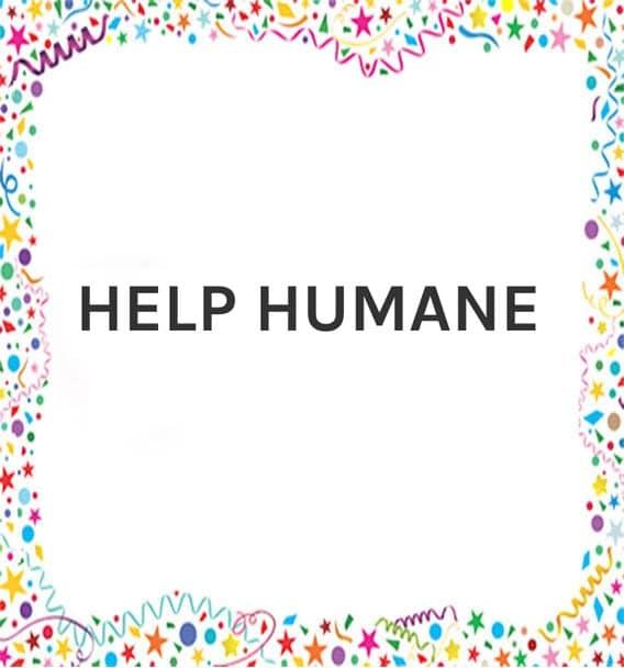 Help Humane Logo