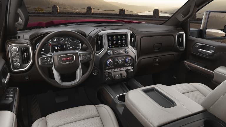 2020 GMC Sierra HD Interior