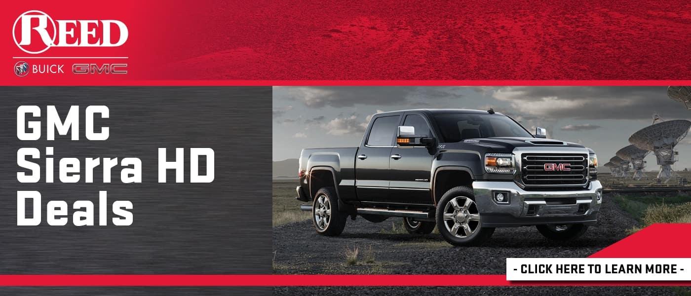 2020 GMC Sierra HD Deals banner