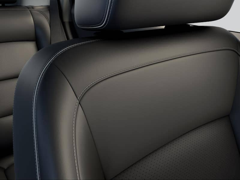 The cargo space of the 2020 GMC Terrain