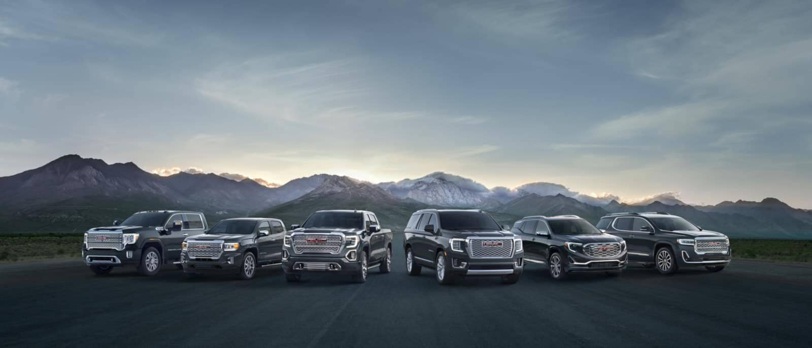 The 2020 GMC Denali Lineup