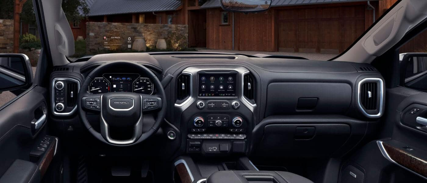 2020 GMC Sierra 1500 Dashboard Screen