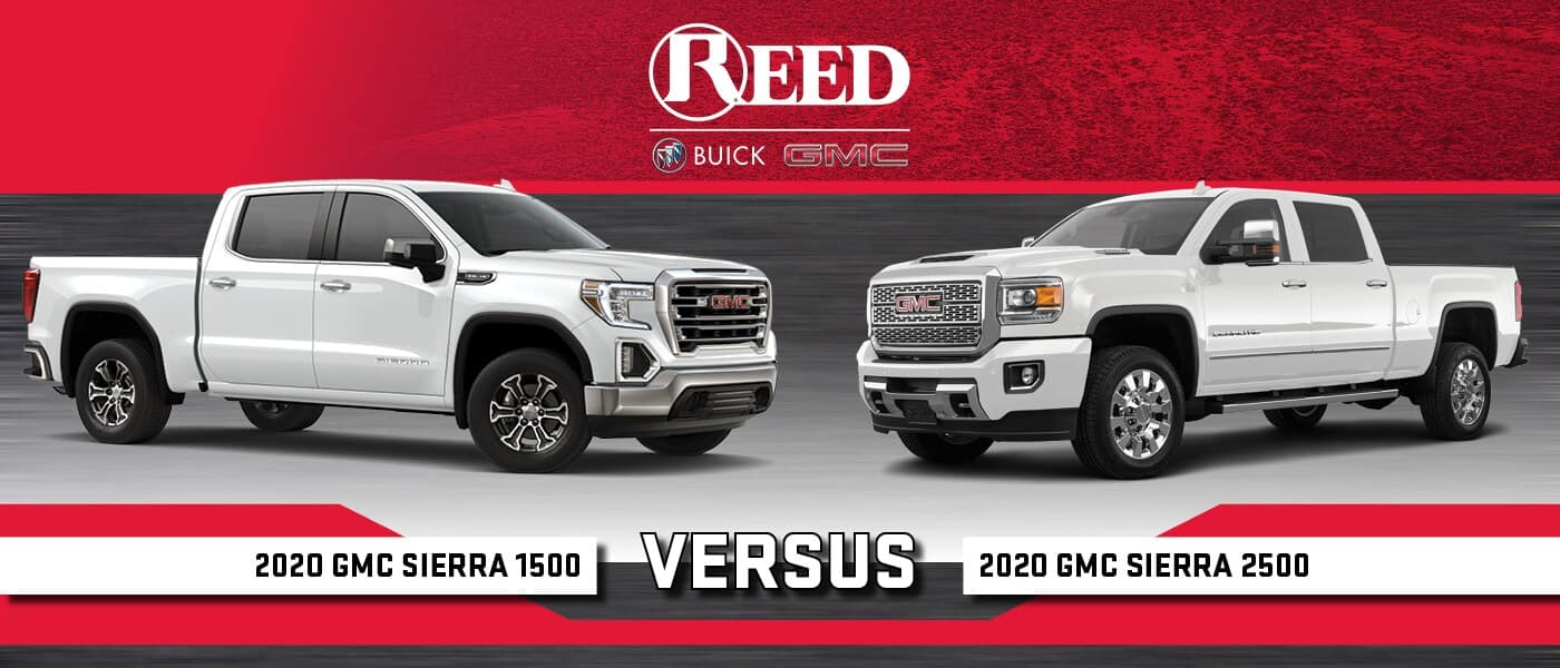 2020 Gmc Sierra 1500 Vs Sierra 2500 Truck Comparison