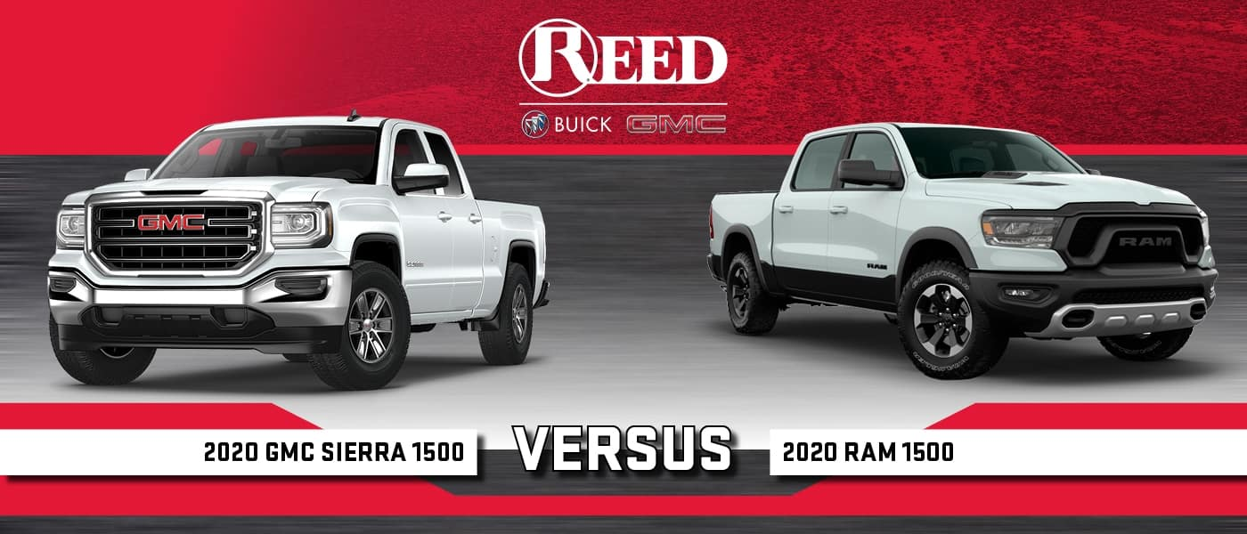 2020 RAM 1500 vs GMC Sierra 1500: Differences Compared ...