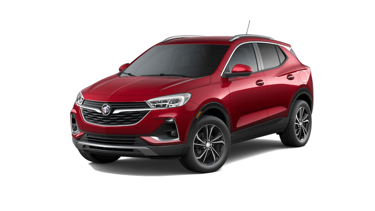 A red 2020 Buick Encore GX