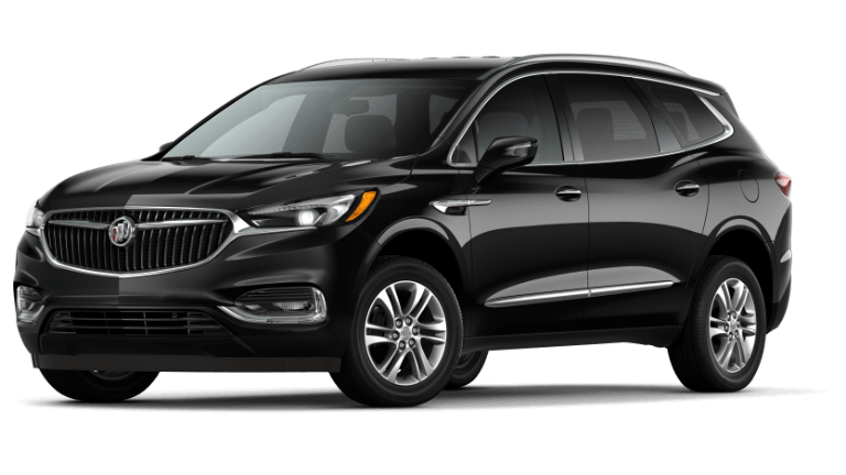 A black 2020 Buick Enclave Preferred