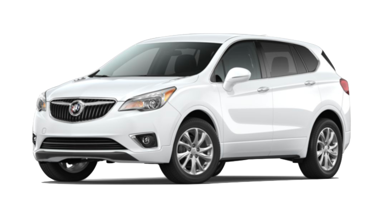 A white 2020 Buick Envision 1SV