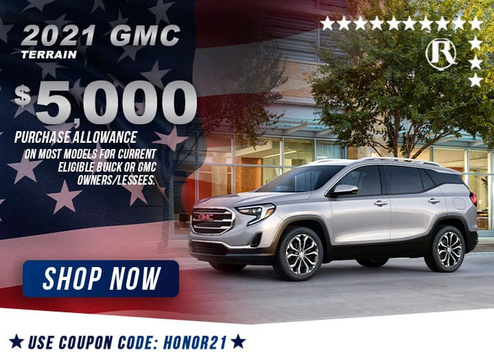 BUICK/GMC SPECIAL OFFERS