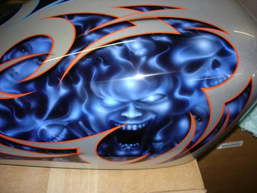Rolling Art Custom Painting