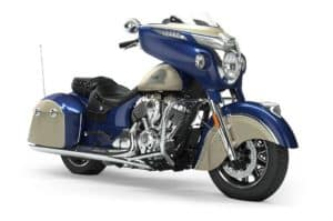 Indian motorcycle chieftain 2 tone top 10 touring bikes of 2020