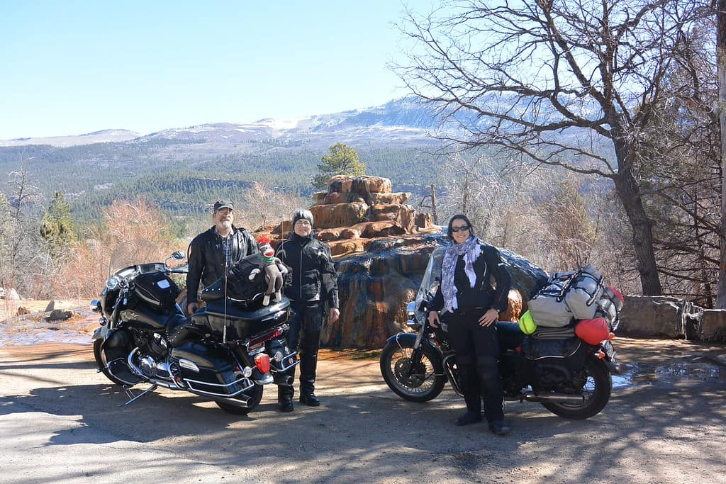 Family Motorcycle Riding