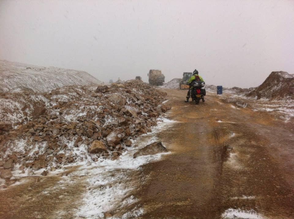 Motorcycle Riding Through China