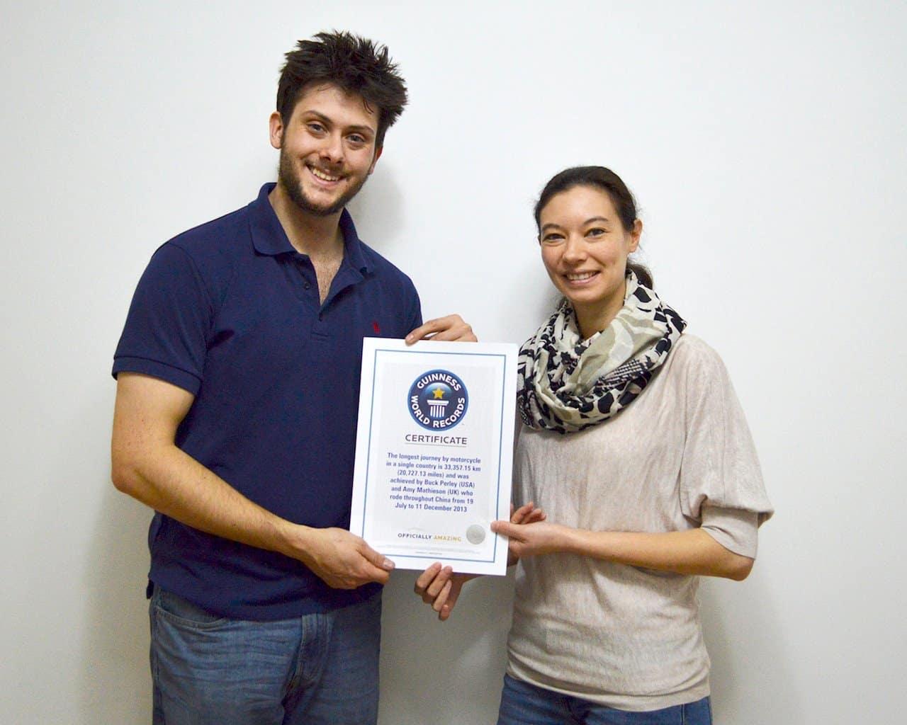Longest Motorcycle Ride World Record