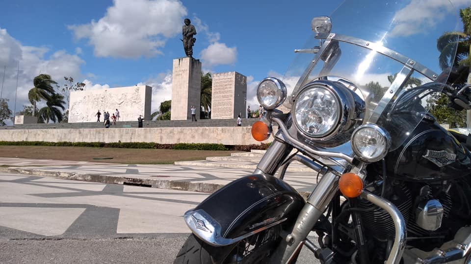 Riding Around In Cuba By Motorcycle