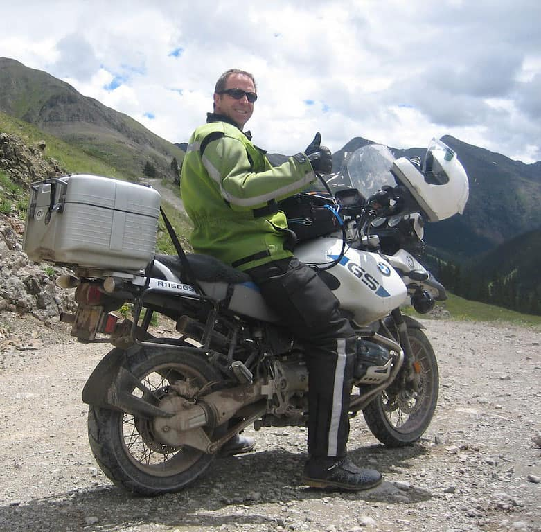 Traveling Around On A Motorcycle