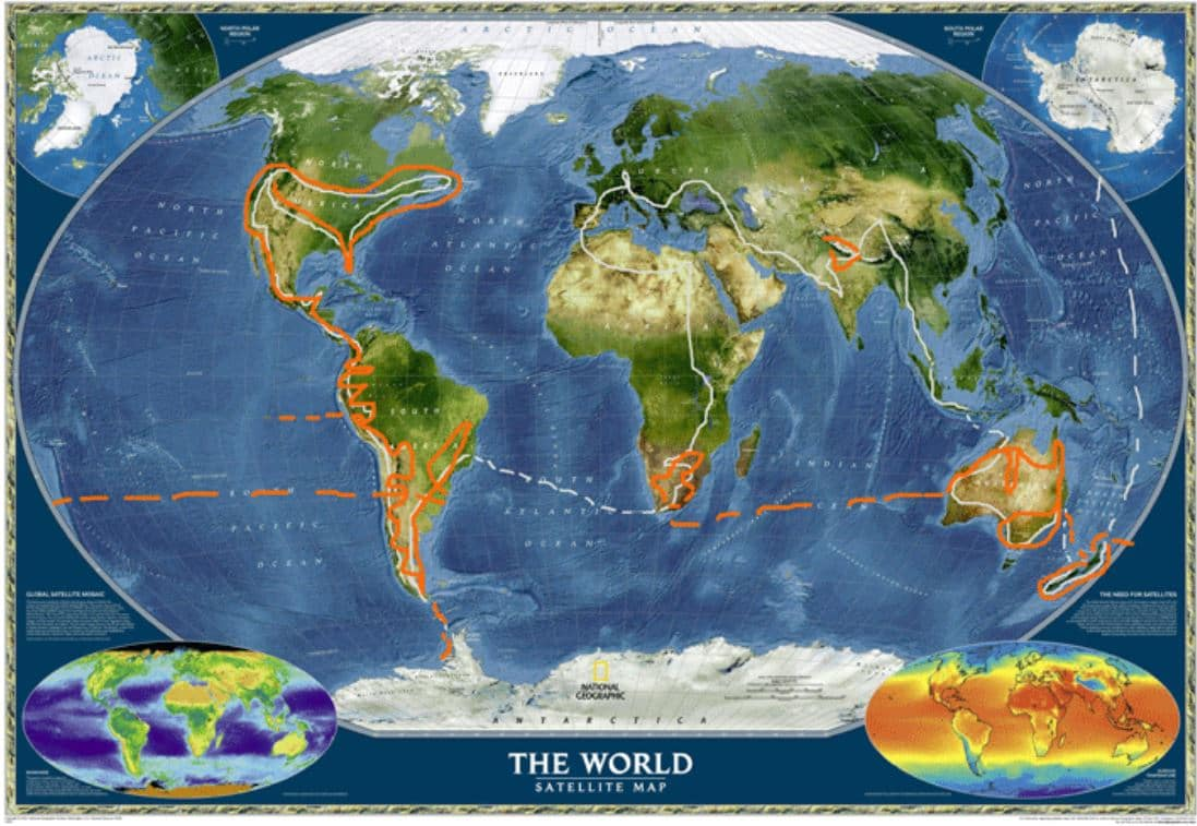 Motorcycle Route Around The World