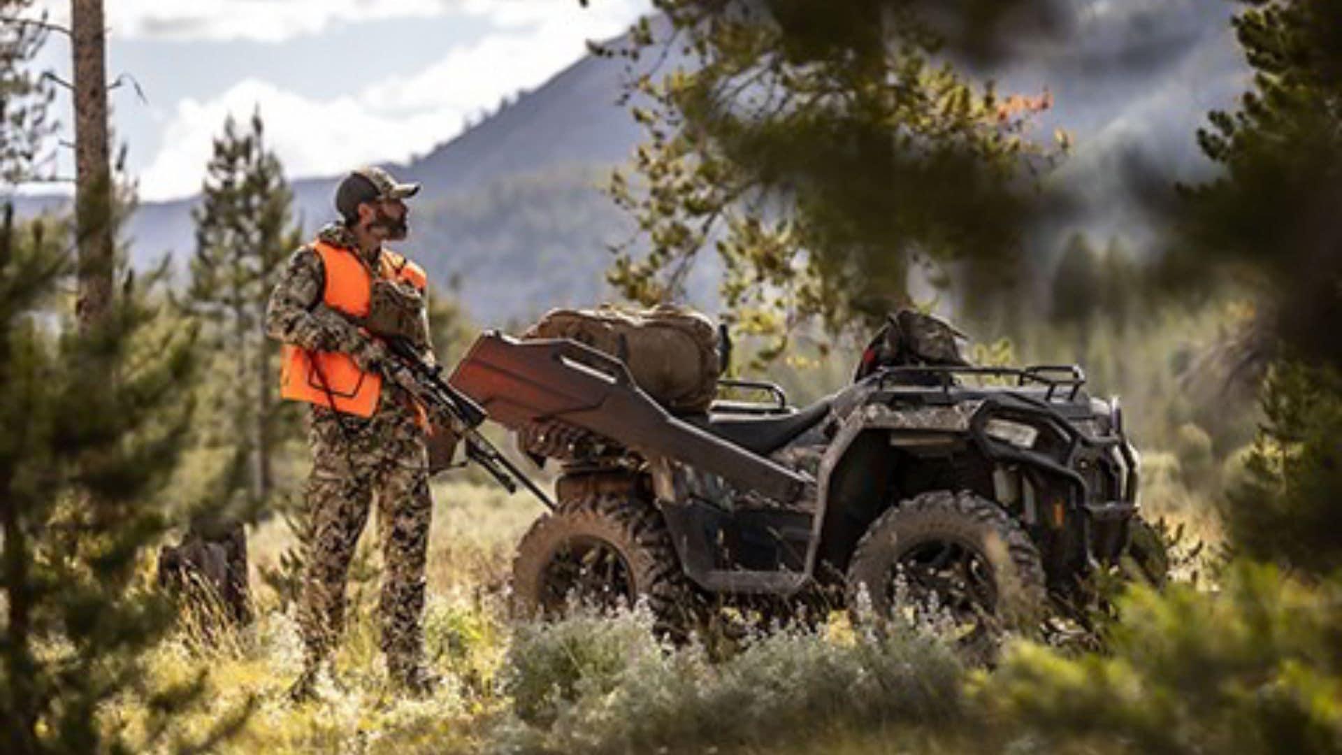 Polaris Hunting ATV