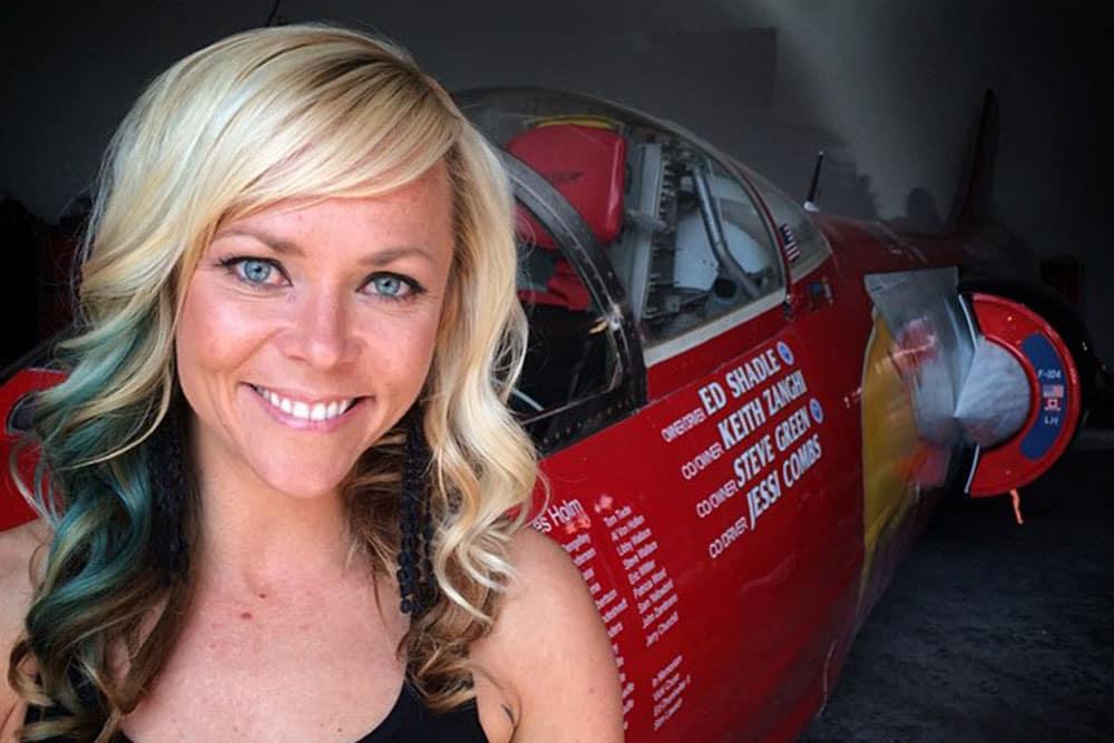 Jessi Combs Jet-Powered Car