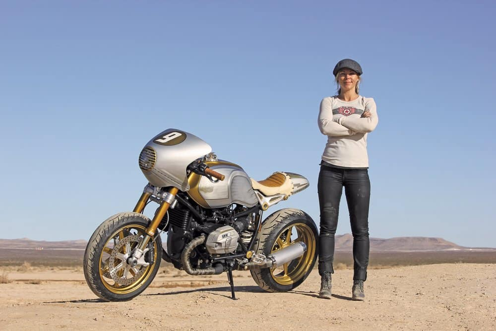 Jessi Combs Motorcycle