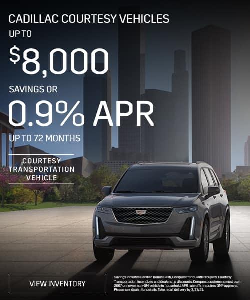Cadillac Courtesy Vehicles
