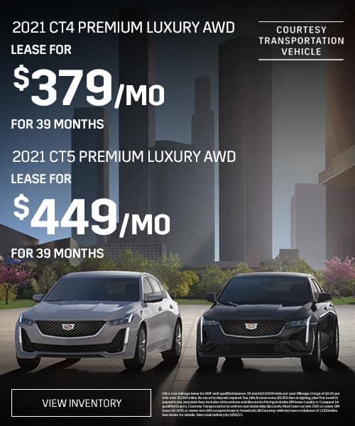 2021 CT4 Premium Luxury AWD
