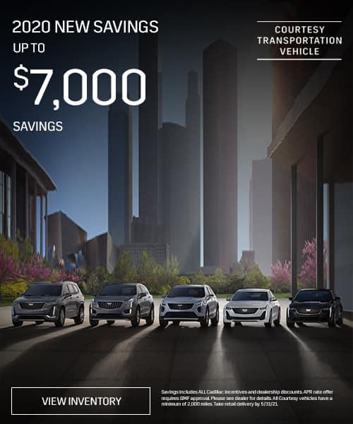 2020 New Vehicles