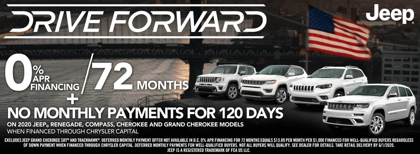 Drie-forward-jeep-sale