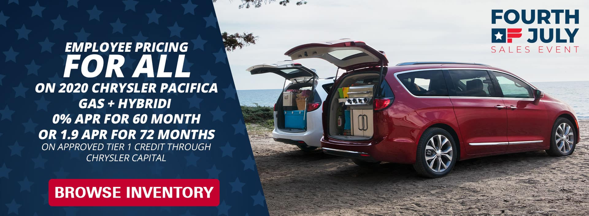 Employee pricing Pacifica