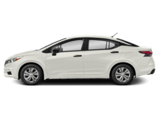 sideview 2020 Nissan Versa Sedan