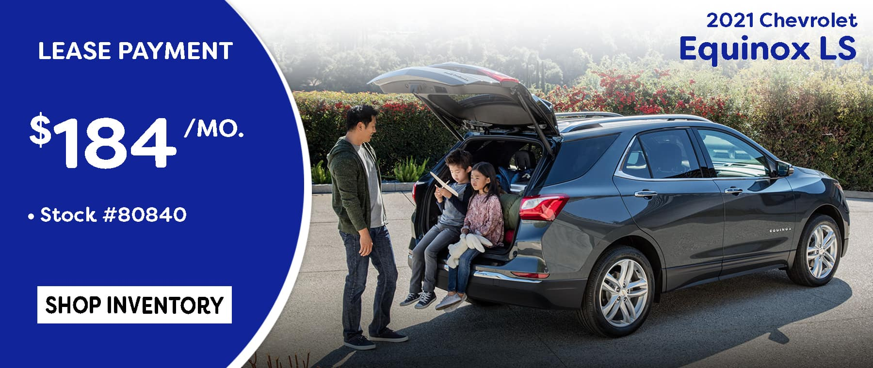 July 2021 Equinox LS Lease Special $184/mo.*