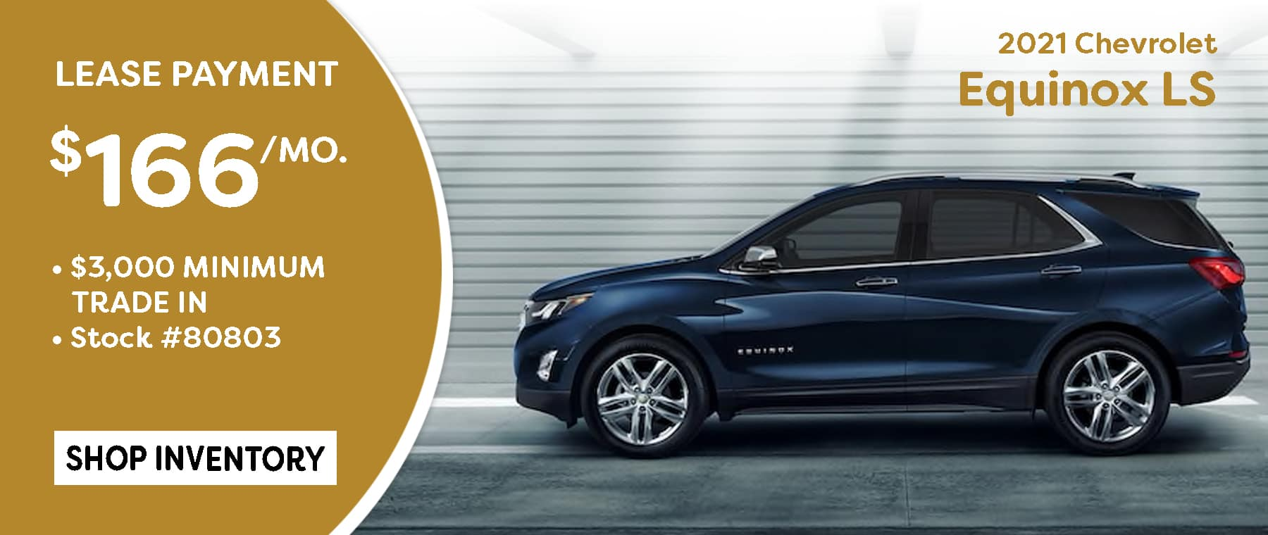 May 2021 Equinox Lease Offer $166/mo*