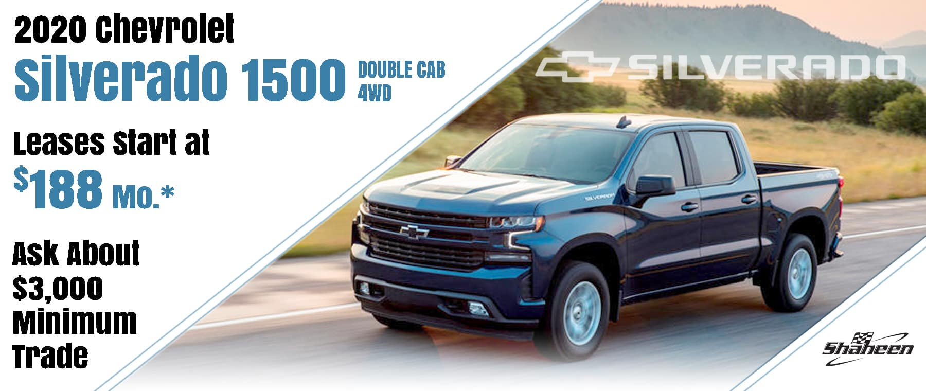 October Silverado Lease Offer $188/mo*