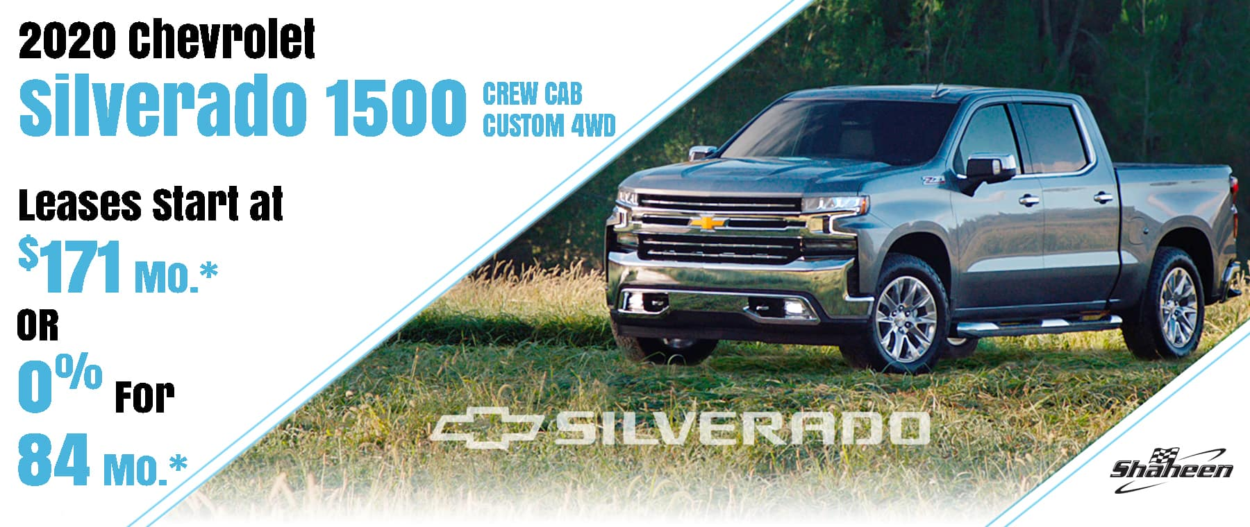 2020 Silverado Crew Cab Lease Offer