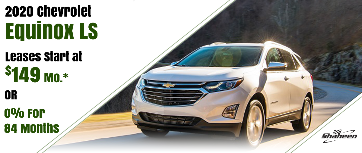 2020 Equinox Lease for $149/mo*