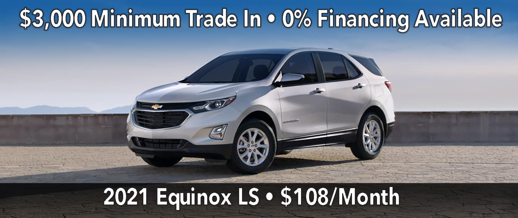January Equinox Lease Offer $108/mo*